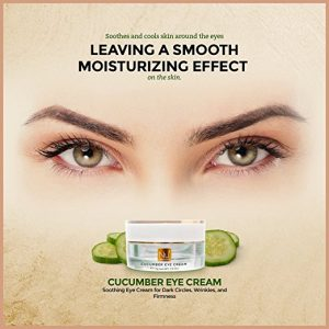 cucumber eye cream wrinkles